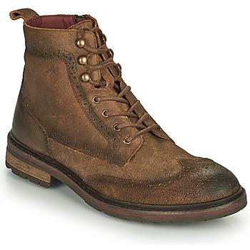 Sapatos Homem Botas baixas Fluchos OWEN Castanho