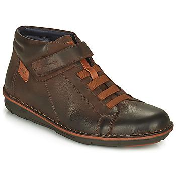 Sapatos Homem Sapatilhas de cano-alto Fluchos ALFA Castanho