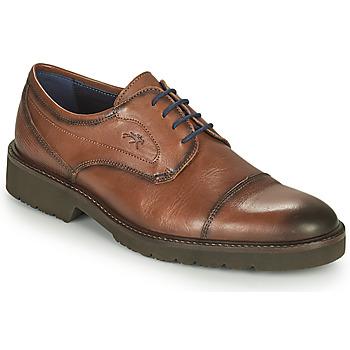 Sapatos Homem Sapatos Fluchos CAVALIER Castanho