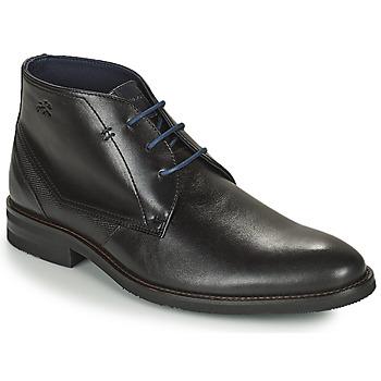 Sapatos Homem Botas baixas Fluchos OLIMPO Preto