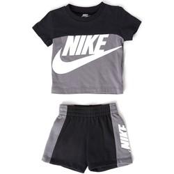 Textil Rapaz Conjunto Nike - Tuta nero 66H363-M19 NERO