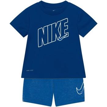 Textil Rapaz Conjunto Nike - Tuta blu 66H589-U1U BLU