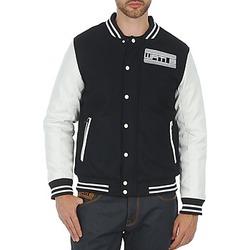 Textil Homem Jaquetas Wati B OUTERWEAR JACKET Preto / Branco