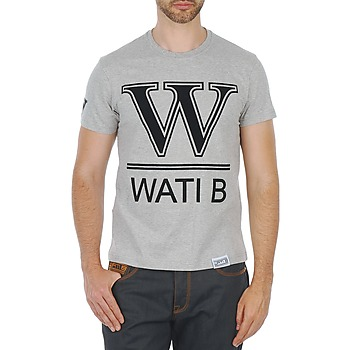 Textil Homem T-Shirt mangas curtas Wati B TEE Cinza