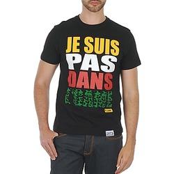 Textil Homem T-Shirt mangas curtas Wati B TEE Preto