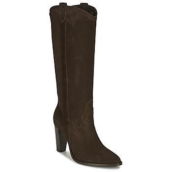 Sapatos Mulher Botas Ikks BR80185 Castanho