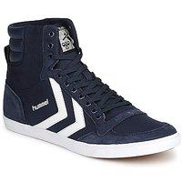 Sapatos Sapatilhas de cano-alto Hummel TEN STAR HIGH CANVAS Marinho
