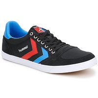 Sapatos Sapatilhas Hummel TEN STAR LOW CANVAS Preto