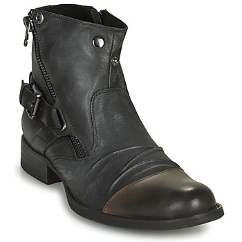 Sapatos Homem Botas baixas Kdopa DETROIT Preto