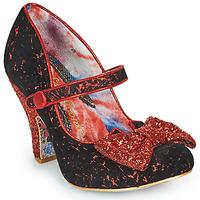 Sapatos Mulher Escarpim Irregular Choice FANCY THAT Preto / Vermelho
