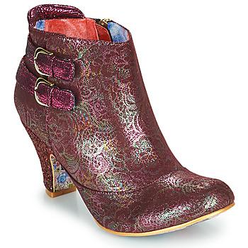 Sapatos Mulher Botins Irregular Choice THINK ABOUT IT Bordô