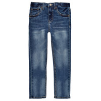 Textil Rapaz Gangas Skinny Levi's 510 SKINNY FIT EVERYDAY PERFORMANCE JEANS Azul / Escuro