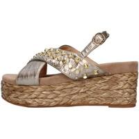 Sapatos Mulher Sandálias Alma Blue V21BL6506 Castanho