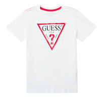 Textil Rapaz T-Shirt mangas curtas Guess CELAVI Branco