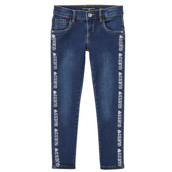 Textil Rapariga Calças de ganga slim Guess PALINCA Azul