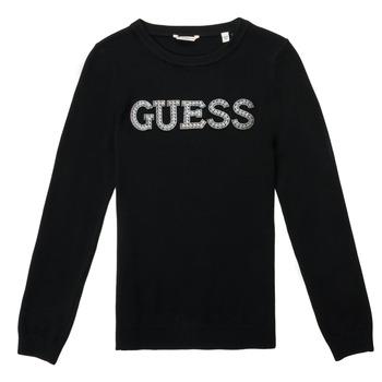 Textil Rapariga camisolas Guess TAKEI Preto