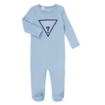 Textil Rapaz Pijamas / Camisas de dormir Guess THEROI Azul