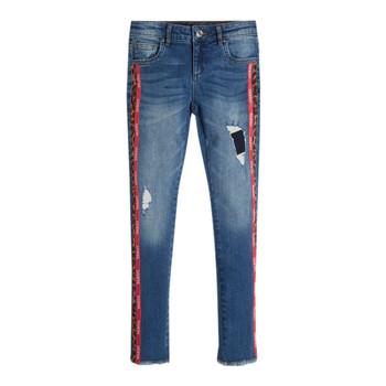 Textil Rapariga Calças de ganga slim Guess TRAMIN Azul