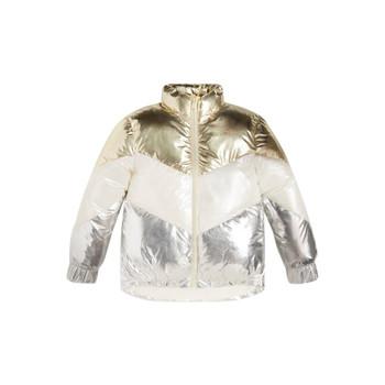 Textil Rapariga Quispos Guess FRILLY Branco / Cinza / Ouro