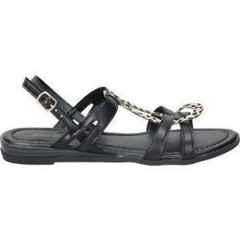 Sapatos Mulher Sandálias Isteria SANDALIAS  21073 MODA JOVEN NEGRO Noir
