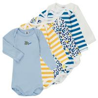 Textil Rapaz Pijamas / Camisas de dormir Petit Bateau FEDDY Multicolor