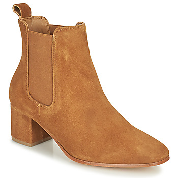 Sapatos Mulher Botas Levi's DELILAH CHELSEA Castanho