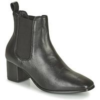 Sapatos Mulher Botas Levi's DELILAH CHELSEA Preto