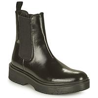 Sapatos Mulher Botas baixas Levi's LENNA HI Preto