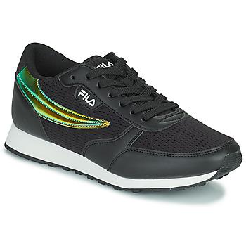 Sapatos Mulher Sapatilhas Fila ORBIT F LOW Preto