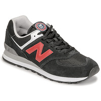 Sapatos Homem Sapatilhas New Balance 574 Preto / Vermelho