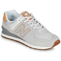 Sapatos Homem Sapatilhas New Balance 574 Cinza / Bege