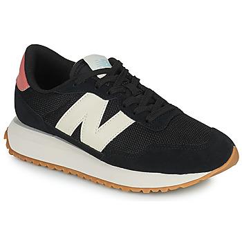Sapatos Mulher Sapatilhas New Balance 237 Preto / Branco / Rosa