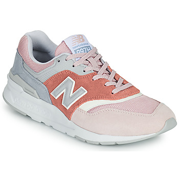 Sapatos Mulher Sapatilhas New Balance 997 Rosa / Cinza