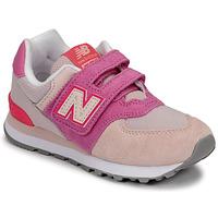 Sapatos Rapariga Sapatilhas New Balance 574 Rosa / Violeta
