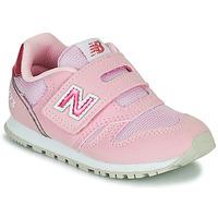 Sapatos Rapariga Sapatilhas New Balance 373 Rosa
