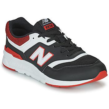 Sapatos Rapaz Sapatilhas New Balance 997 Preto / Vermelho