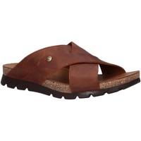 Sapatos Homem Chinelos Panama Jack SALMAN BASICS C1 Marr?n