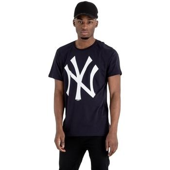 Textil Homem T-Shirt mangas curtas New-Era MLB New York Yankees Azul