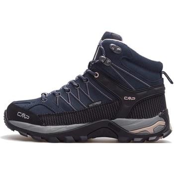 Sapatos Mulher Sapatos de caminhada Cmp Rigel Mid Wmn WP Preto, Azul marinho