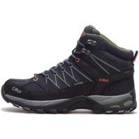 Sapatos Homem Sapatos de caminhada Cmp Rigel Mid WP Preto