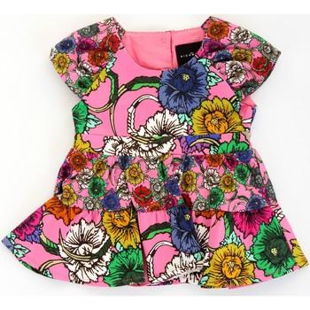 Textil Rapariga Vestidos curtos John Richmond RIP21030VE Rosa