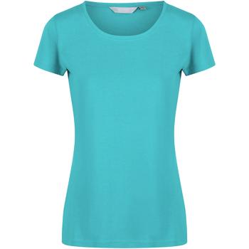 Textil Mulher T-Shirt mangas curtas Regatta  Turquesa