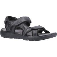 Sapatos Homem Sandálias Hush puppies  Preto