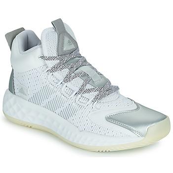Sapatos Sapatilhas de basquetebol adidas Performance PRO BOOST MID Branco / Prata
