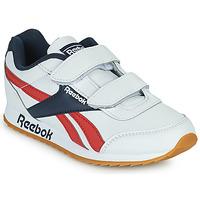 Sapatos Criança Sapatilhas Reebok Classic REEBOK ROYAL CLJOG 2 2V Branco / Marinho / Vermelho