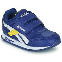Sapatos Criança Sapatilhas Reebok Classic REEBOK ROYAL CLJOG 2  KC Azul / Amarelo / Branco