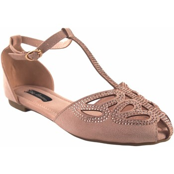 Sapatos Mulher Sandálias Olivina Sapato de senhora BEBY 19067 rosa Rosa