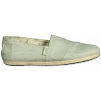 Sapatos Mulher Alpargatas Paez Alpargatas Original Raw W Day & Sparks Green Mist Verde