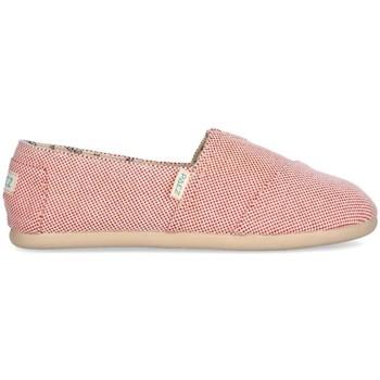 Sapatos Mulher Alpargatas Paez Alpargatas Original Gum W Panama Red Vermelho