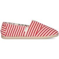 Sapatos Mulher Alpargatas Paez Alpargatas Original Gum W Surfy UK Vermelho